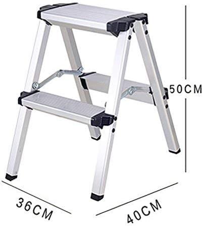 Escalera Familiar, Escalera de Aluminio, Escalera Gruesa Plegable, Escalera de Ingeniería, T-Z, 2 pasos: Amazon.es: Bricolaje y herramientas