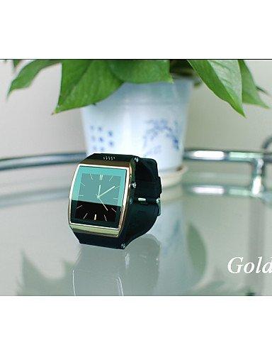 Teléfono Android LYF reloj inteligente con pantalla táctil Bluetooth delgado de ios de la cámara de reloj resistente al agua, la luz de color rosa de tinta: ...
