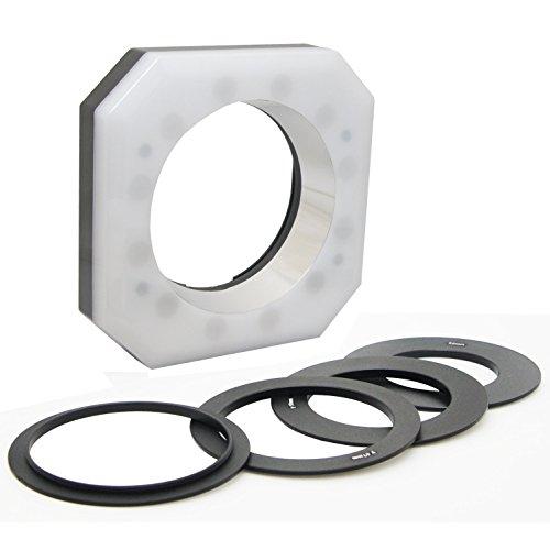 Opteka RL12 Digital Macro LED Ring Light for Canon EOS 80D, 70D, T7i, T6i, T6, T5i, T5 and T6 Digital SLR Cameras
