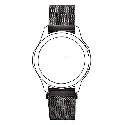 V-MORO Mesh Band Compatible with Gear S3 Frontier/Galaxy Watch 46mm Bands Stainless Steel Metal Bracelet Strap Replacement for Samsung Gear S3 ...