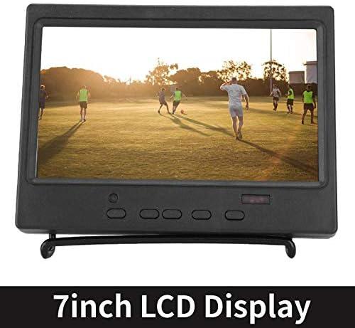 JDLP Monitor de 7 Pulgadas portátil 1024x600 16: 9 exhibición de ...