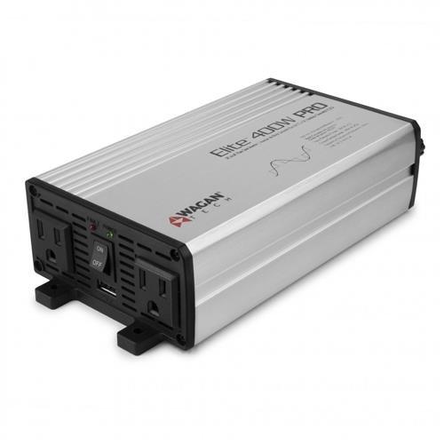 Wagan EL2610 Gray 400W Pure Sine Wave Power Invertor, 3 Pack ()
