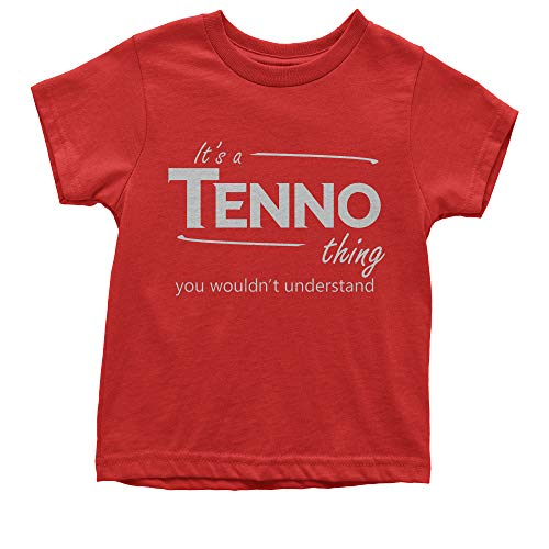 Youth Tenno Race Gamer T-Shirt Small Red