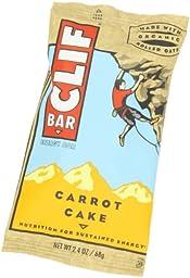 CLIF ENERGY BAR - Carrot Cake - (2.4 oz, 24 Count)