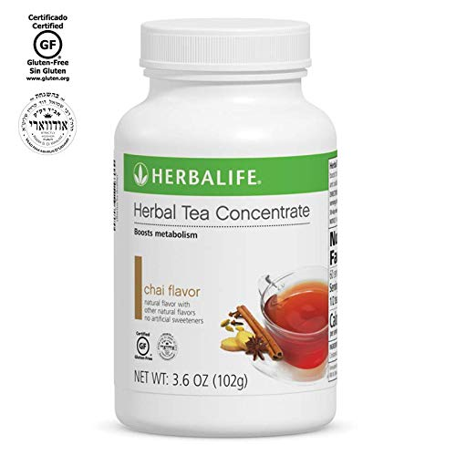 Herbalife Herbal Tea Concentrate (Chai with non-GM Ingredient, 3.6 OZ (102g)) by Herbalife Nutrition