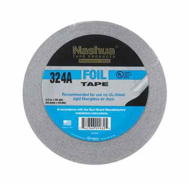 Nashua Duct Tape Foil Air Professional 4.8 Mil 60 Yd. Aluminum Meets Ul 181 - Outlets Nashua