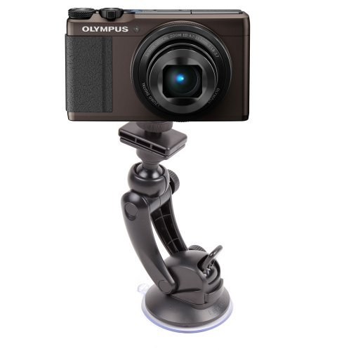 DURAGADGET Shake-Proof Universal Camera Windscreen Mount Compatible With Canon IXUS 140 / Fujifilm AX650 / Olympus XZ-10 / Vivitar F128 / Vivitar DVR785HD-BLU 5MP Pro Waterproof Action Camcorder / DVR995WHD-GRP-IT Camscope / Vivitar DVR 748HD / Vivitar DV