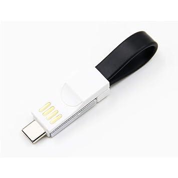 Amazon.com: Cable USB tipo C, OIF Iphone9 3 en 1, llavero ...
