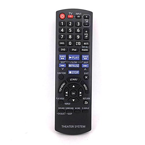 Replacement Theater System Remote Control Fit for N2QAYB000623 for Panasonic SAXH150P SAXH150, Ship from USA