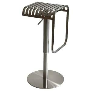 AmeriHome Stainless Steel Bar Stool