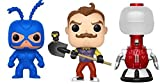Funko POP! TV MST3 - Tom Servo Standard The Tick and Games Hello Neighbor - Collectible Figure Set of 3