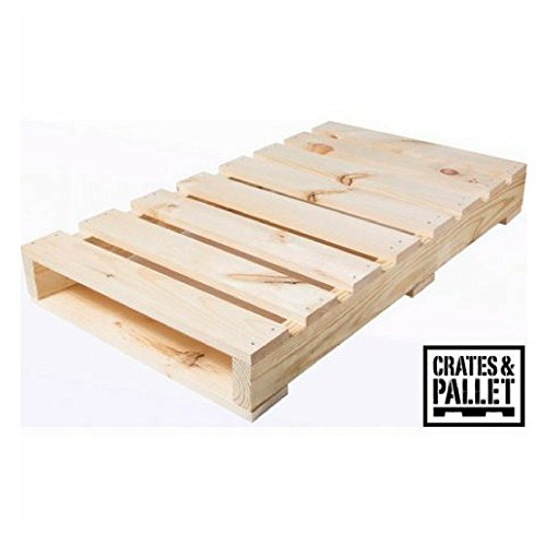 - Crates and Pallet Half Pallet, New Wood