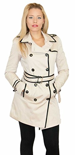 SWASS Mantel Damen Jacke Beige 36 38 40