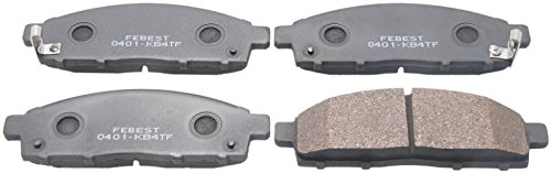 4605A284 / 4605A284 - Front (Disc Brake) Pad Kit For Mitsubishi (Mitsubishi Metal Front Brake Pad)