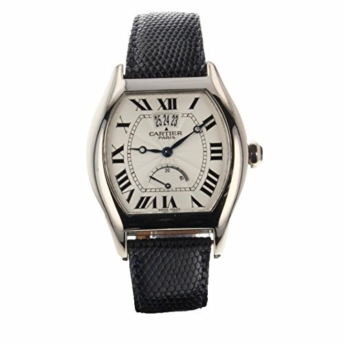 Cartier Tortue Mechanical-Hand-Wind Male Watch W1542751 (Certified Pre-Owned)