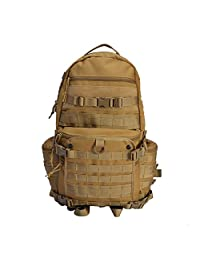 YAKEDA® Outdoor Molle Waterpoof Rucksack Military Tactical Backpack For Army Camping Hiking Trekking Bag Outdoor Travel backpack--50
