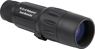 Orion 10-25x42 Zoom Waterproof Monocular (Black) from Optronic Technologies, Inc