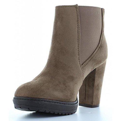 Stiefel für Damen XTI 28325 ANTELINA TAUPE