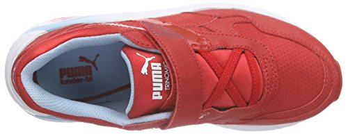 Puma R698 Mesh-neoprene V Inf - Zapatillas Unisex Niños Rojo - Rot (high risk red-high risk red 04)