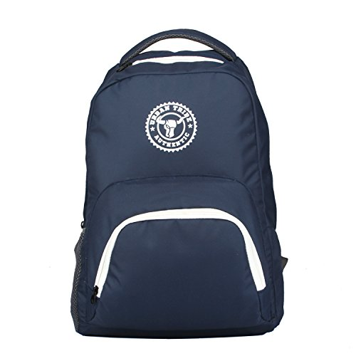 Urban Tribe Navy Blue Laptop Backpack  Street Hawk   Tall Boy