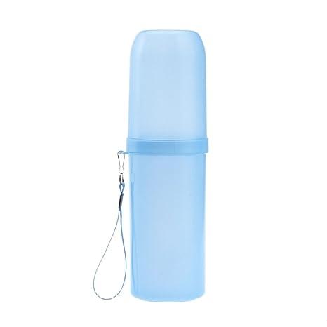 Portátil de viaje juego de taza para cepillos de dientes utilidad multifunción de vaso para cepillos