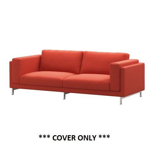 IKEA 高価値 海外限定 Nockeby ndash; Slipcover用のソファ99 カバーのみ B01DB9A5KG Risaneオレンジ
