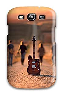 Quality SuzanneW Case Cover With Road Musicians Nice Appearance Compatible With Galaxy S3