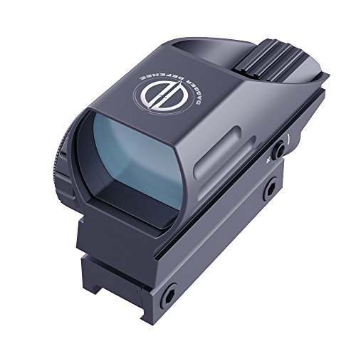 Dagger Defense DDHB Red Dot Reflex Sight, Reflex Sight Optic and Substitute for Holographic red dot Sights (Best Red Dot Sight For Browning Buckmark)