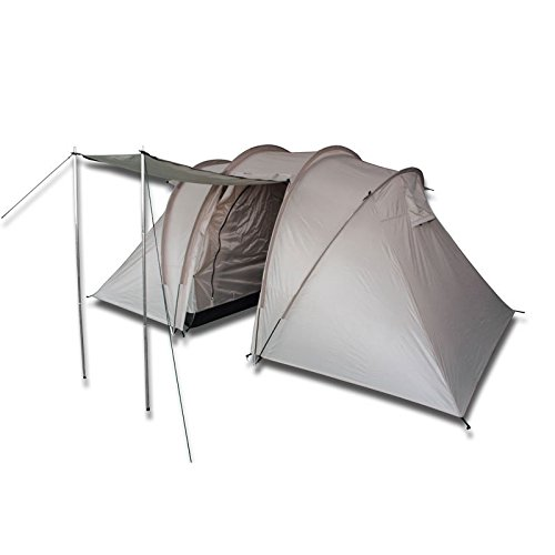Barton Outdoors 4 Person Camping Tent with Two Separate Rooms by Barton Outdoors