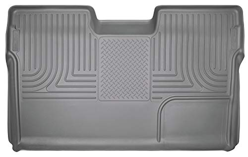 Husky Liners 19332 WeatherBeater Floor Liner Gray 1 pc. Covers Entire Carpeted Area Works w/Subwoofer WeatherBeater Floor Liner
