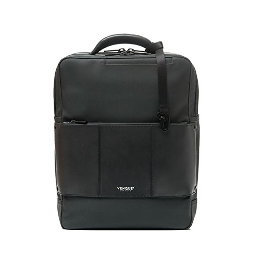 VENQUE (ヴェンク) バックパック リュックサック CIENI BACKPACK - CARBON BLACK 国内正規取扱店 1年間製品保証付き   B07F34MFW5
