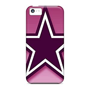 Iphone 5c YkN11456LVrl Custom Stylish Dallas Cowboys Pattern Excellent Cell-phone Hard Cover -IanJoeyPatricia