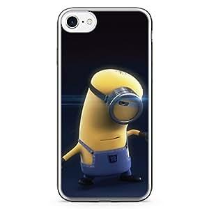 Loud Universe iPhone 8 Plus Transparent Edge Case - Minion Dancing