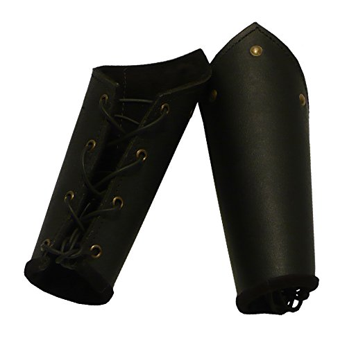 Knights Battle Bracers black leather product image