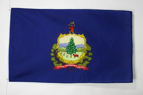 VERMONT FLAG 2' x 3' - US STATE OF VERMONT FLAGS 60 x 90 cm - BANNER 2x3 ft - AZ FLAG