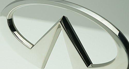 Infiniti Chrome Logo Trailer Hitch Cover Plug