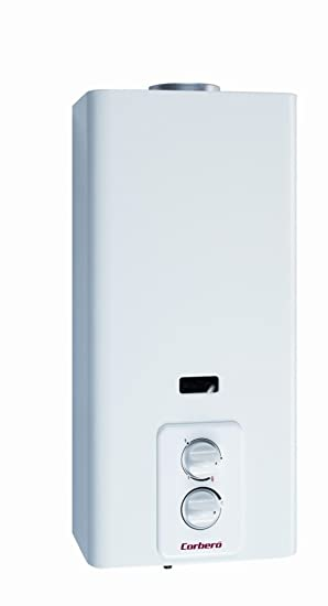 Corberó CCP5GB - Calentador de gas butano, 5 litros, color blanco
