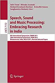 speech processing research papers Frank soong is a principal microsoft research he published extensively and coauthored more than 200 technical papers in the speech and signal processing.
