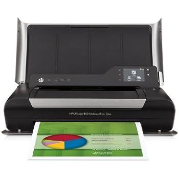 HP OJ 150 Mobile Wireless Color Printer with Copier