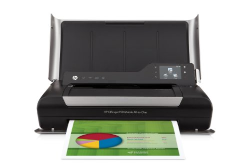 HP OJ 150 Mobile Wireless Color Printer with Copier by HP