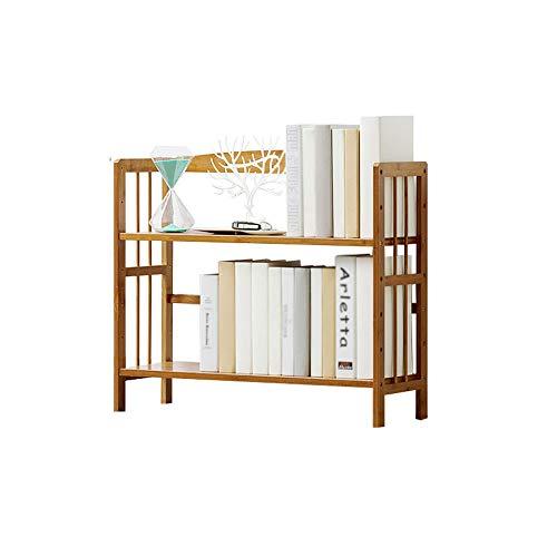 XINGZHE Bookshelf, Simple Floor-Standing Bookshelves, Bookshelf Storage Rack on The Table top, Height Adjustable, Student Bookshelf, economical and Environmentally Friendly Furniture Kids Room
