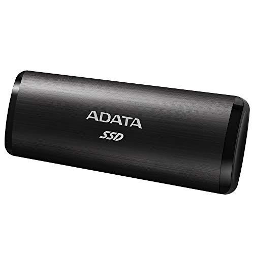 ADATA SE760 1 TB SSD, zwart, USB-C 3.2 Gen 2