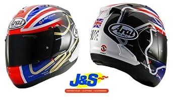 ARAI RX7 GP Haslam WSBK motocicleta casco moto pista días Racing Snell J & S