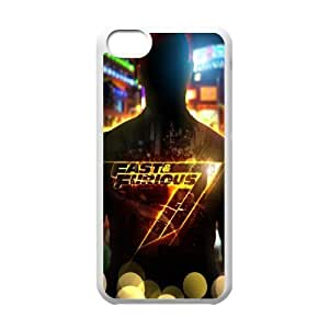 Furious 7 YT0011723 Phone Back Case Customized Art Print Design Hard Shell Protection Iphone 5C