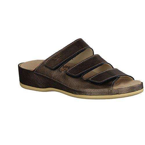 Vital 0613M-2626 - Chaussures femme Mule / Tongs, Multicolore, nappa ( cuir ), hauteur talon: 35 mm