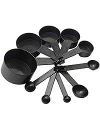 Gain 10 Pcs Plastic Measuring Spoons Cups for Baking Measuring Coffee Set Tools dispense