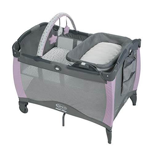 Best Review Of Graco Pack 'n Play Playard Reversible Napper & Changer LX Bassinet, Camila