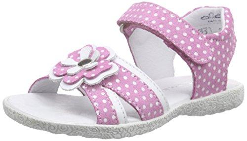 Richter Kinderschuhe Sissi Mädchen Offene Sandalen Pink (lollypop/panna  3701)