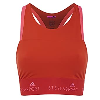 adidas Womens Stella Sport Gym Bra - Orange - XXS  Amazon.co.uk ... 2c7bd9247b