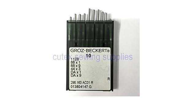 10 GROZ-BECKERT dax1 88 x 1 88 x 9 cantante 95 clase Agujas para máquina de coser: Amazon.es: Juguetes y juegos
